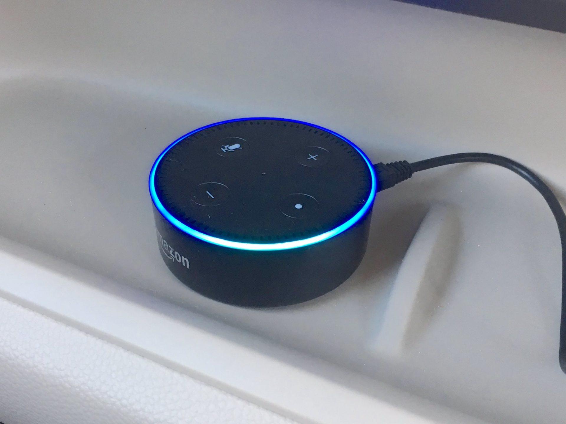 Echo Dotを車載した